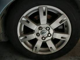 LAND ROVER DISCOVERY 4 19 inch alloy wheels genuine with tyres