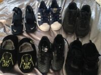 Bundle of Boys Trainers/Football boots/Sandals sizes 12/12.5