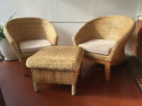 Cane Chairs.