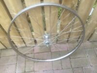"27x1 1/4""VINTAGE WHEEL FOR SALE. NORMANDY HUB."