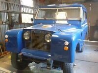 Land Rover Series IIa - much loved