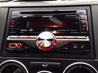 Kenwood DPX-406DAB Double Din Digital Radio Car Stereo Bluetooth AUX USB