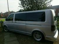 VW TRANSPORTER T5 CUSTOM DAY VAN CAMPER SHUTTLE CARAVEL 2.5 TDI T4 T32