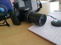 CANON POWERSHOT CAMERA SX430IS WITH CASE (NEVER USED)