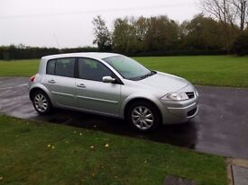 FANTASTIC CONDITION, 12 MONTH MOT &TAX, RECENT SERVICE, RENAULT MEGANE DYNAMIQUE FOR SALE £1800