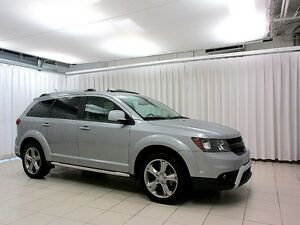 2016 Dodge Journey CROSSROAD AWD SUV 7PASS w/ ROOF RAILS, HEATED