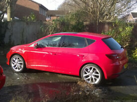 SEAT Leon 1.4TSI FR technology, FSH, 21 month warranty, sunroof, alcantara trim, 1 owner, £20 VED