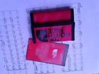 Northface wallet Red, NEW UNUSED unwanted gift