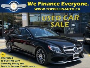 2015 Mercedes-Benz CLS-Class CLS550 4MATIC AMG SPORTS PACKAGE
