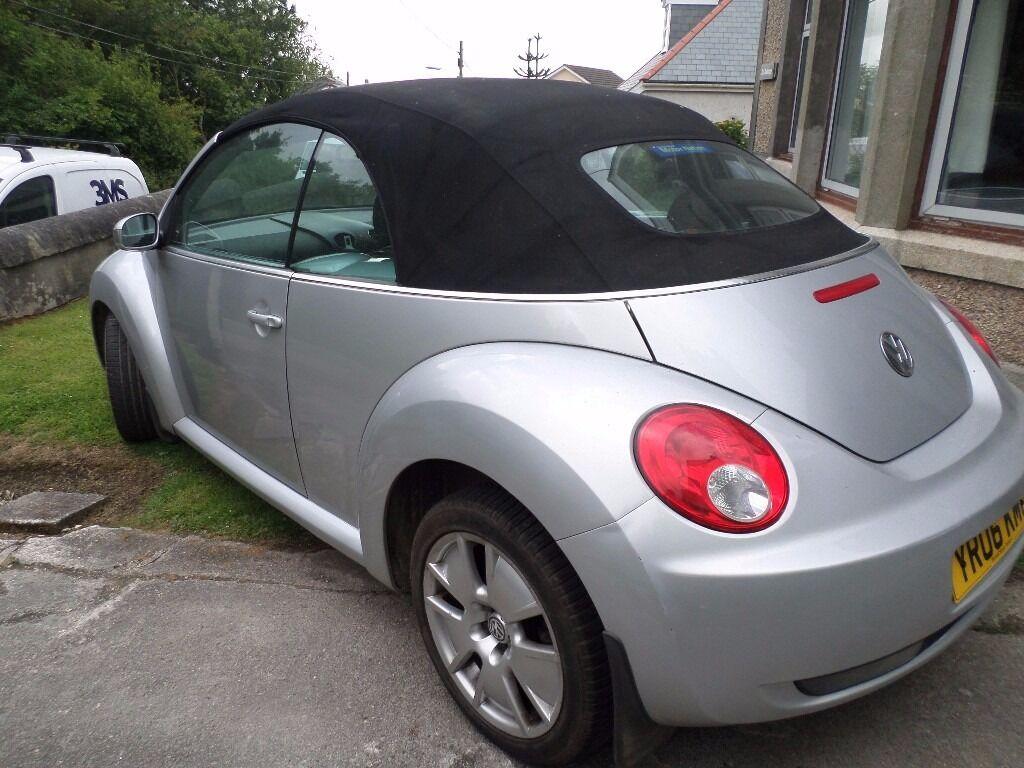 2006 volkswagen beetle convertible 1 9 tdi in st columb. Black Bedroom Furniture Sets. Home Design Ideas