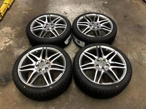 "18"" Mercedes Wheels 5x112 and Winter Tire Package 225/40R18 (MERCEDES Cars) Calgary Alberta Preview"