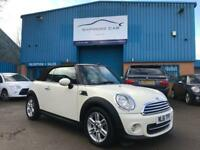 2011/61 MINI COOPER 1.6 CONVERTIBLE # EXCELLENT CONDITION # LOW MILES # LEATHER TRIM # CAT D