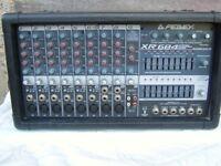 Peavey Powered Mixer amplifier