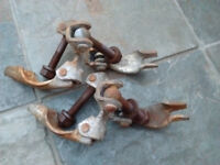2x Scaffolding Clamps Couplers.