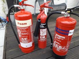 Fire Extinguishers 2kg-6kg by Chubb and Kier