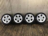 "Genuine 17"" BMW 3 Series Sport Alloy Wheels - 5x120 - 316, 318, 320, f30, traffic, vivaro, primstar"