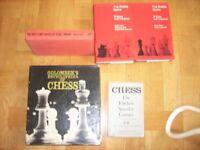 VARIOUS CHESS BOOKS