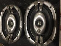 Kenwood 6 x9 car speakers