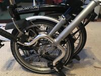 Brompton 3 Speed Folding Bike