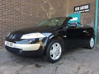 2005 RENAULT MEGANE CONVERTIBLE **AUTOMATIC**