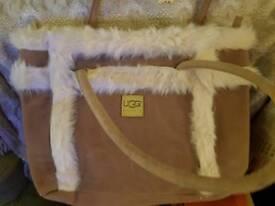 Ugg bag with tags