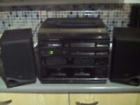 turntable memorex hifi system £25 cash
