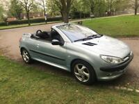Peugeot 206cc Automatic. Hard top convertible. Great runner for the summer