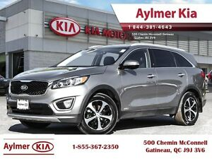 2016 Kia Sorento EX V6 7 Passenger leather and 7 pass