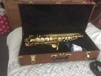 Alto saxophone - Cranes sax, immaculate condition & comes with case and cleaners