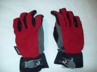 Sailing Gloves, Three Pairs