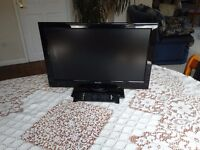 Sharp 22 inch Widescreen HD Ready 1080p LCD TV Excellent working order