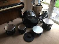 Drum Kit, hardware and cymbals for sale