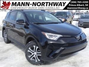 2017 Toyota RAV4 LE | Lane Departure, Cruise, AWD, Heated Seats.