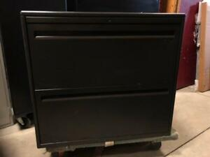 "Haworth 2 Drawer Lateral Filing Cabinet - 30""W - $150"