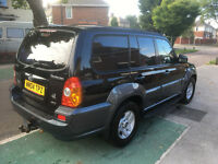 *** 4X4 READY 4 WINTER *** 04 REG HYUNDAI TERRACAN 2.9 CDX CRTD 5 DOOR LWB ESTATE