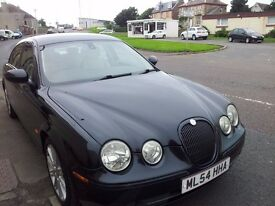 54 jaguar s-type 2.5 v6 sport auto.4door saloon.8 service stamps.excellent condition.