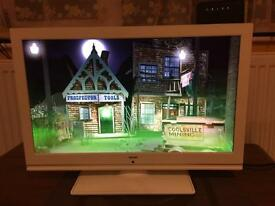 22' led Bush Tv with DVD player