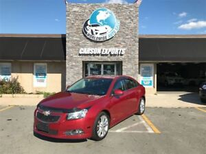 2013 Chevrolet Cruze LOOK LTZ TURBO! FINANCING AVAILABLE!