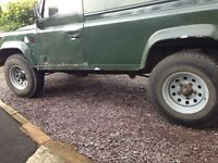 Landrover modular wheels with general grabber tr's