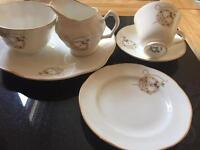 ROYAL TARA BROACH TEA SET - SIX SETTINGS