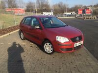 2006 Volkswagen POLO full year mot low mileage 5 door private plate