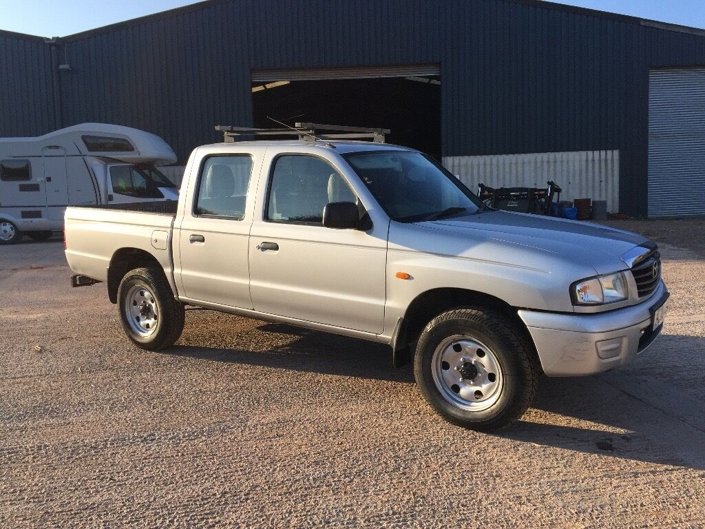 mazda b2500 2005 4x4 double cab pick up td ford ranger not l200 nivara hilux in totnes devon. Black Bedroom Furniture Sets. Home Design Ideas