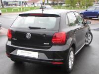 Volkswagen Polo SE (black) 2015-09-25