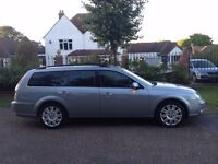 FORD MONDEO 2.2 TITANIUM DIESEL ESTATE HALF LEATHER ALLOY WHEELS AIR CON CD PLAYER TOP SPEC CAR