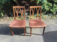4g plan 1950 dinning room chairs