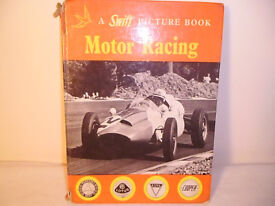SWIFT PICTURE BOOK OF MOTOR RACING,PUBLISHED 1961