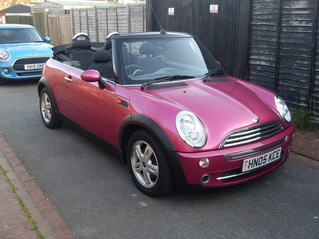 Pink Mini Cooper Convertible 2005 In Eastleigh
