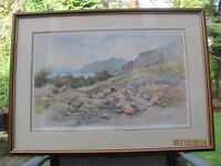G V Gadd Ashness Bridge Signed and Numbered Print Framed Excellent