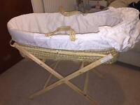 Tesco Moses Basket w/ Stand