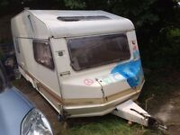 FREE 5M Caravan. Useful for storage, spare parts or could be habitable with a bit of work.